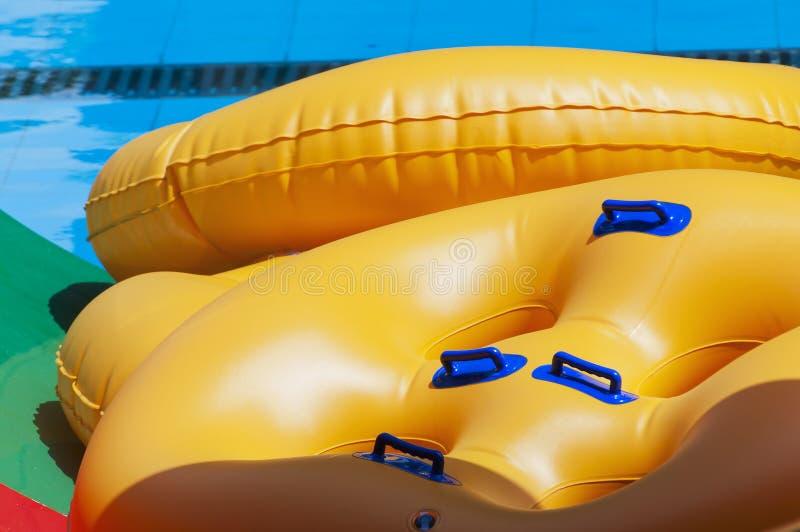 Barcos inflables imagen de archivo libre de regalías
