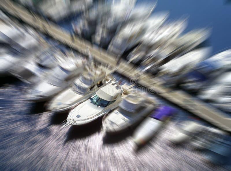 Barcos luxuosos imagens de stock