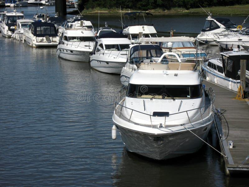 Barcos luxuosos imagem de stock royalty free