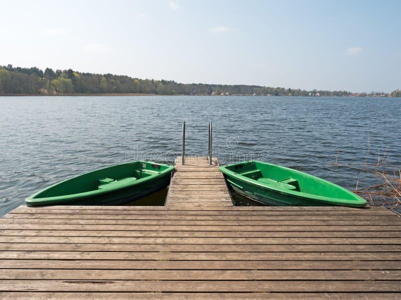 Barcos na Web imagem de stock