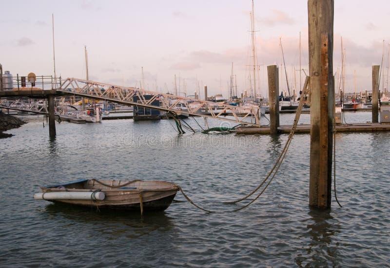 Barcos no louro de Hervey, Austrália imagem de stock royalty free