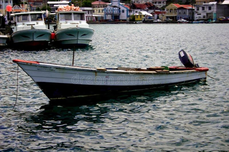 Barcos no porto fotografia de stock royalty free