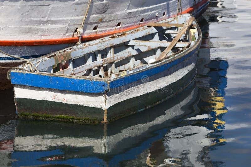Barcos pintorescos en Willemstad imagenes de archivo