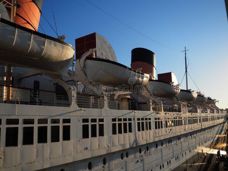Barcos salva-vidas do navio imagens de stock royalty free