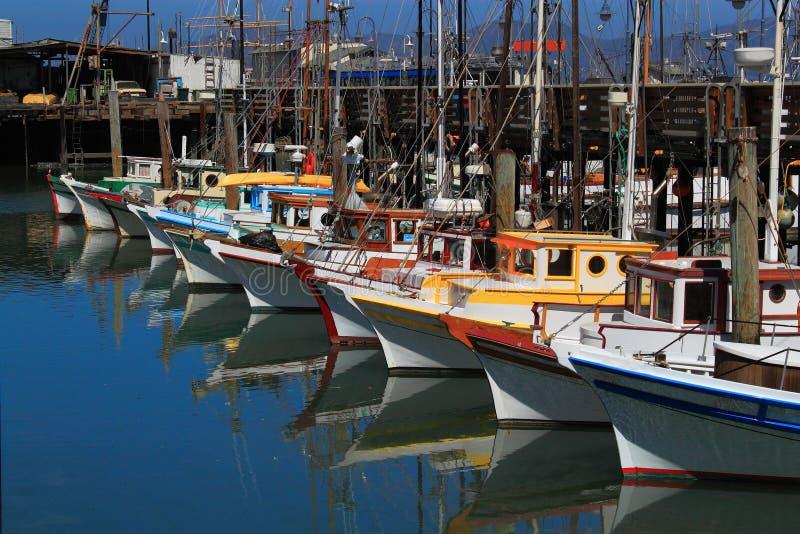 Barcos San Francisco foto de archivo libre de regalías