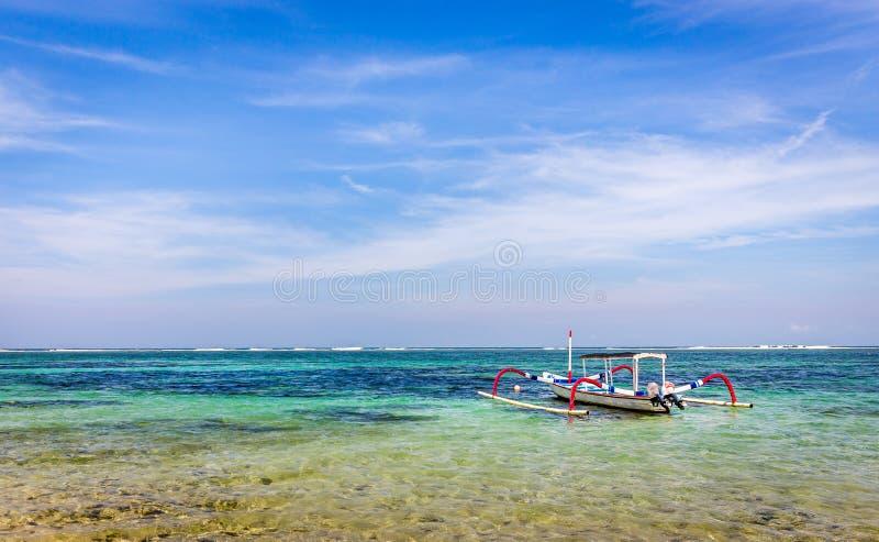 Barcos tradicionales del balinese fotografía de archivo libre de regalías