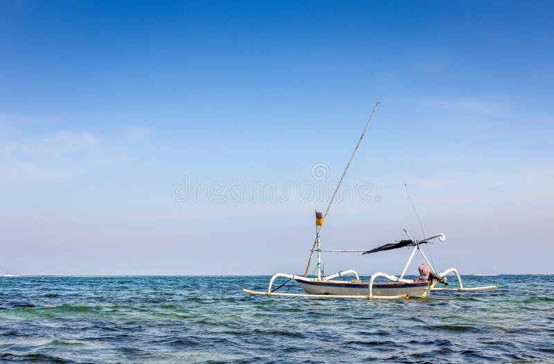 Barcos tradicionales del balinese foto de archivo libre de regalías