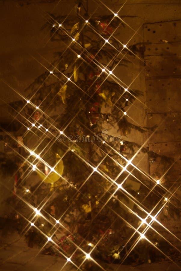 BARD Christmas-lichten stock afbeeldingen