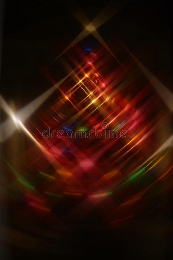 BARD Christmas-lichten royalty-vrije stock foto's