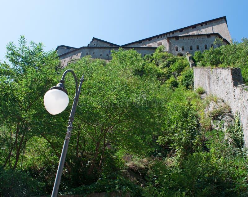 Bard, de Aosta-Vallei, Italië, Europa royalty-vrije stock foto's