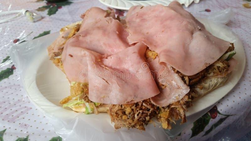 Barda Sandwich a Tampico, Messico immagini stock libere da diritti