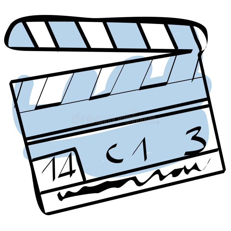 Bardeau de cinéma illustration stock