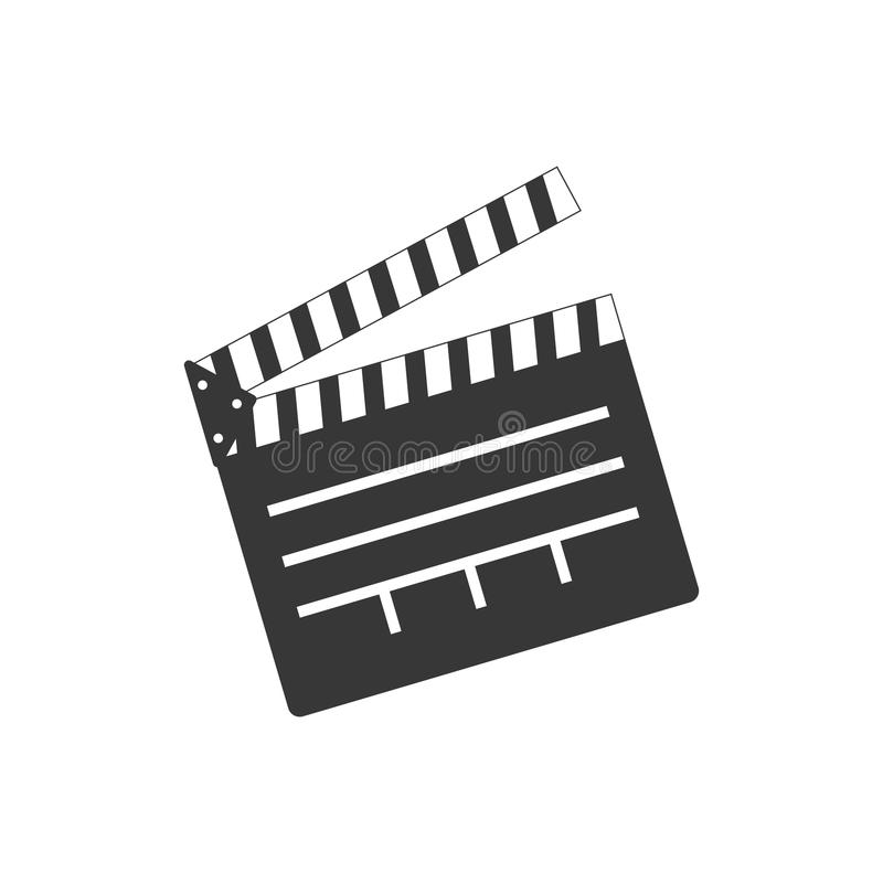 Bardeau de cinéma d'isolement illustration libre de droits