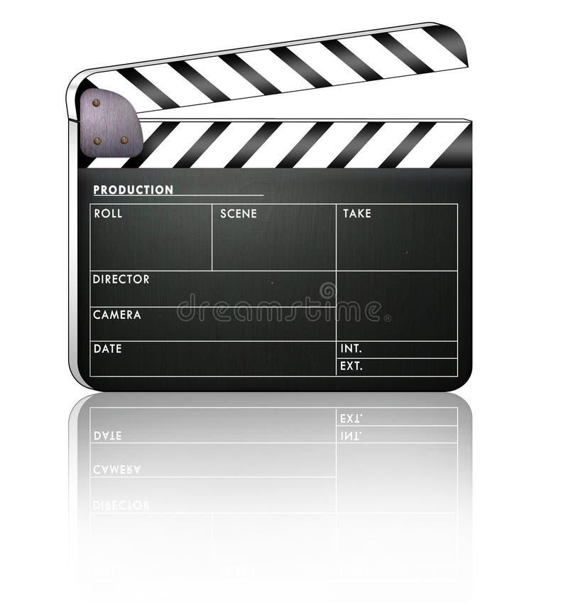Bardeau de film. illustration libre de droits