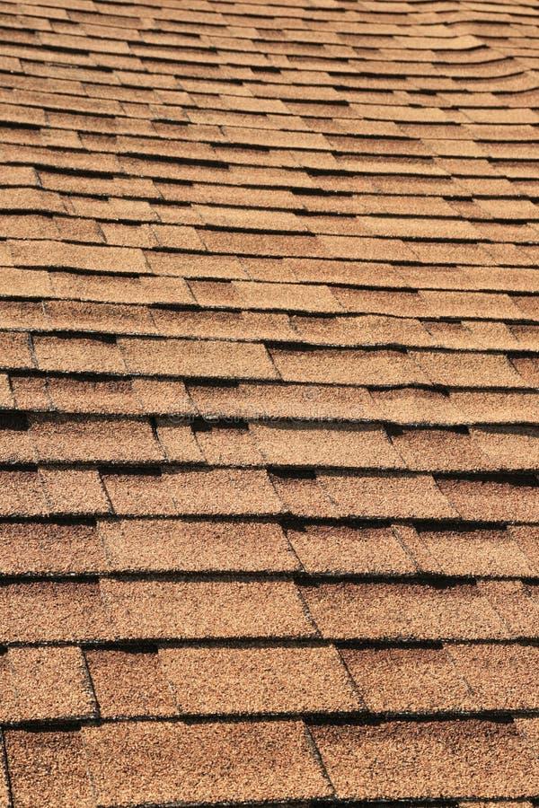 Bardeaux de toit photographie stock
