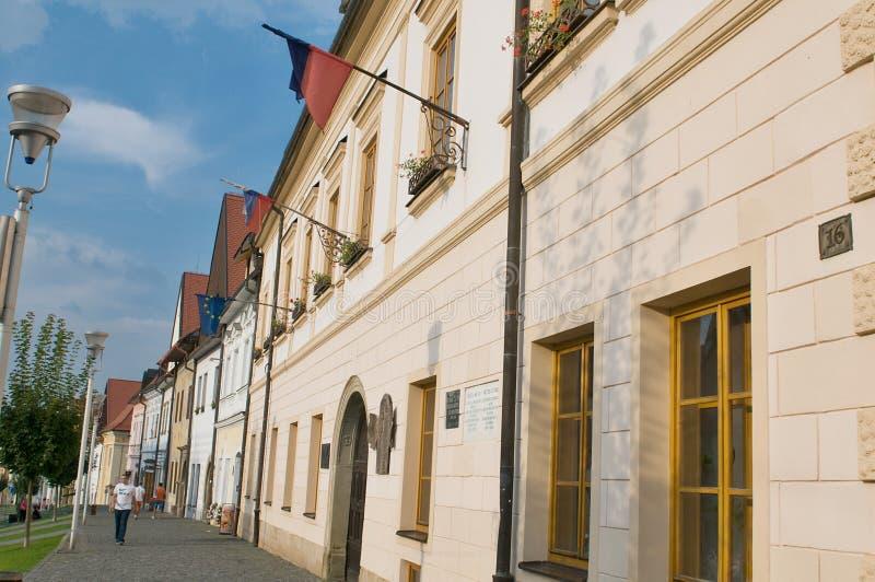 Bardejov - cidade do unesco fotos de stock