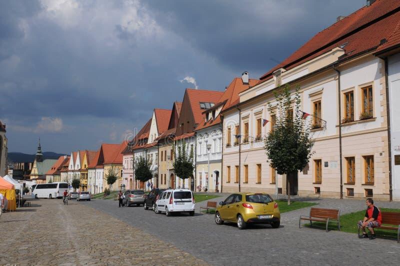 Bardejov - ciudad de la UNESCO fotos de archivo libres de regalías