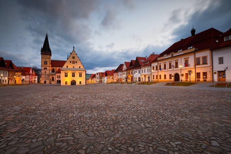 Bardejov, Eslováquia foto de stock