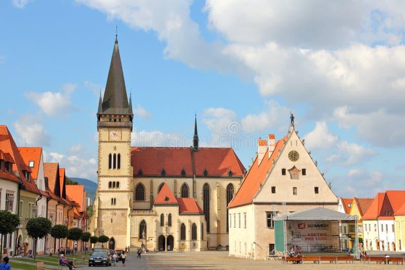 Bardejov, Eslovaquia imágenes de archivo libres de regalías