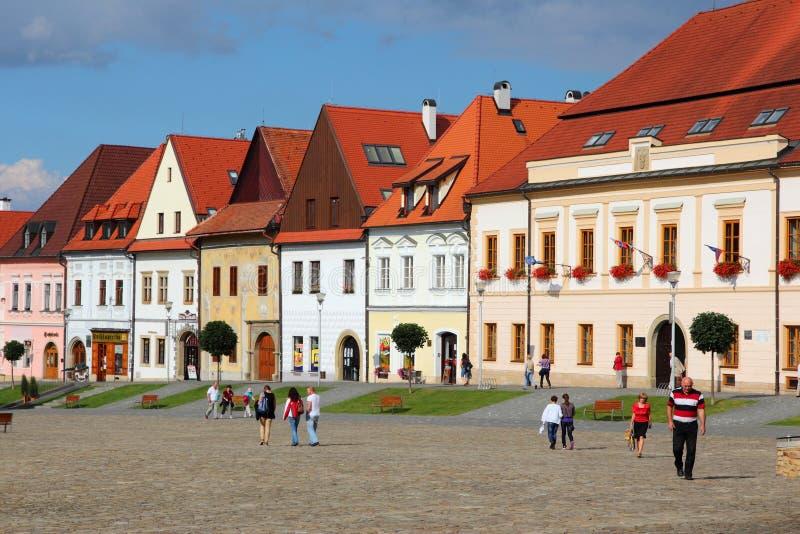 Bardejov, Eslovaquia foto de archivo