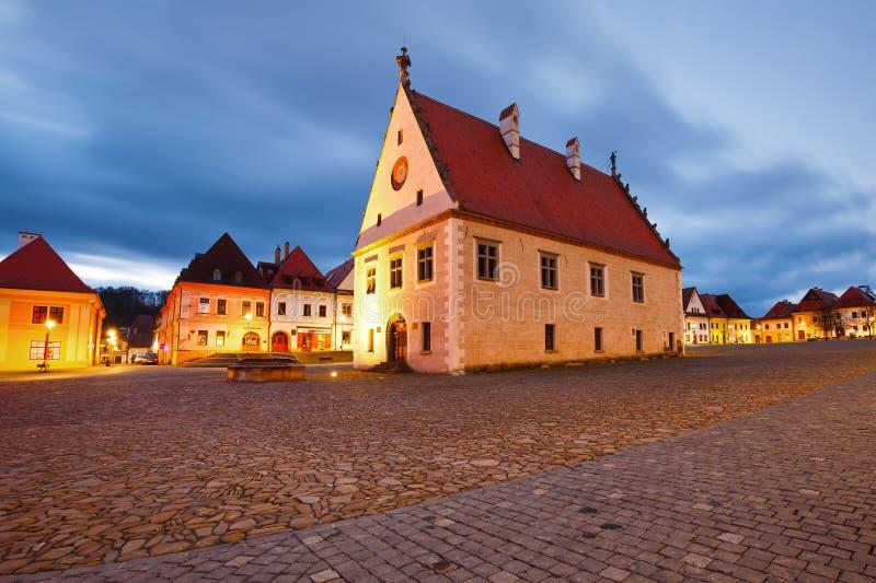 Bardejov, Eslovaquia fotografía de archivo