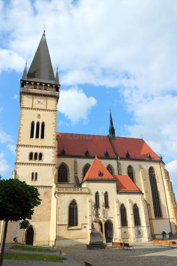 Bardejov, Slovaquie photographie stock libre de droits