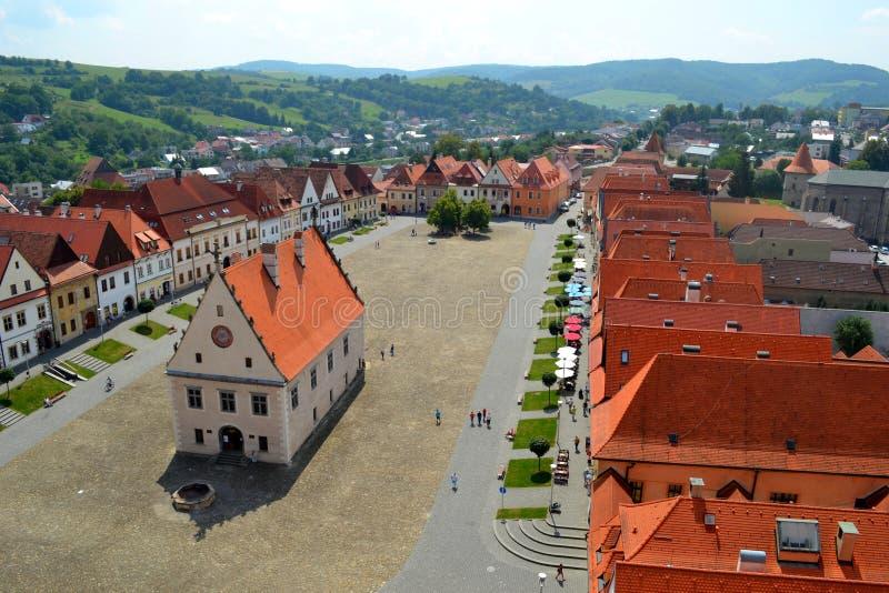 Bardejov, Slowakei lizenzfreies stockbild