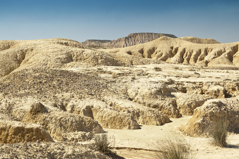 Bardenas Reales Navarre Spain Royalty Free Stock Images