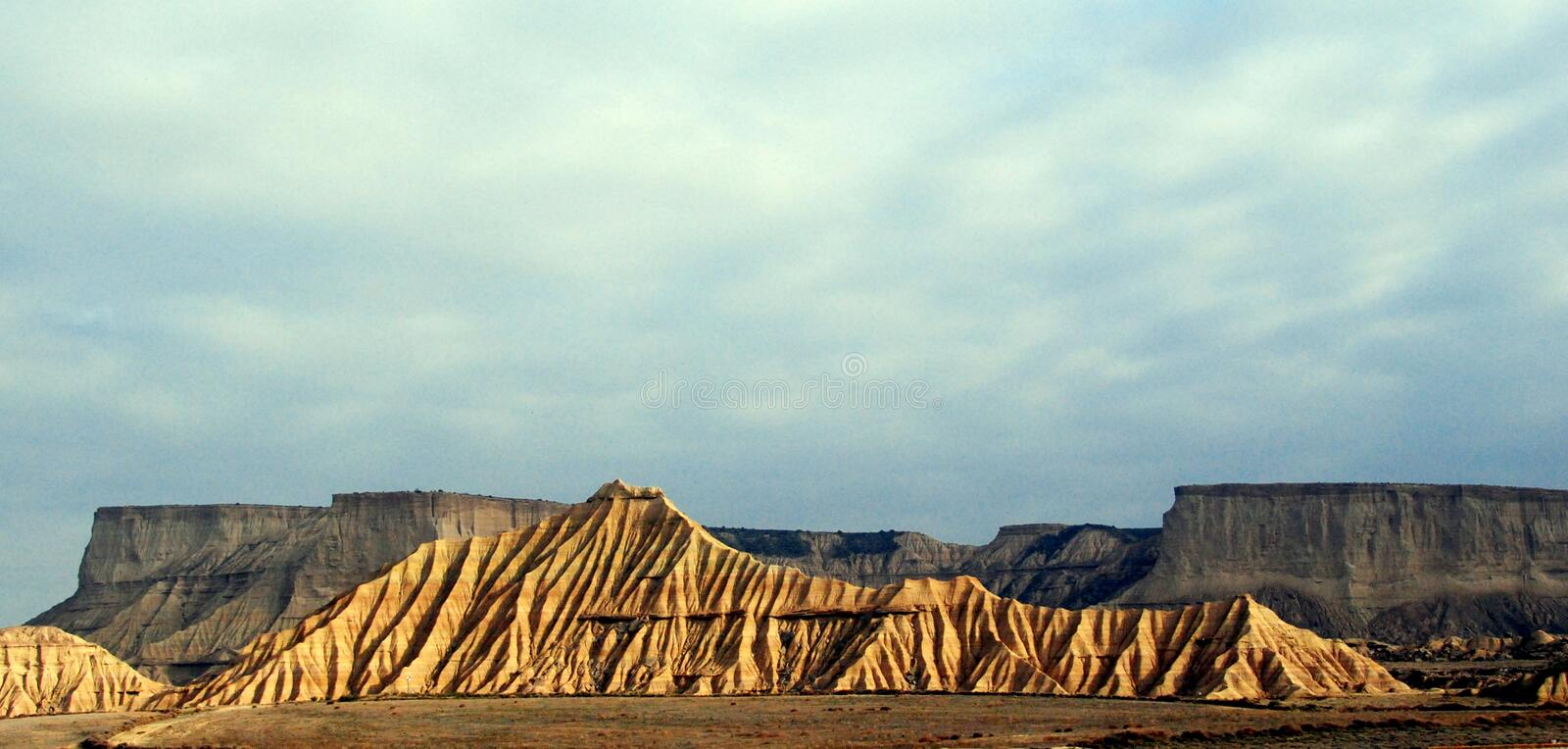Bardenas, Spain royalty free stock images