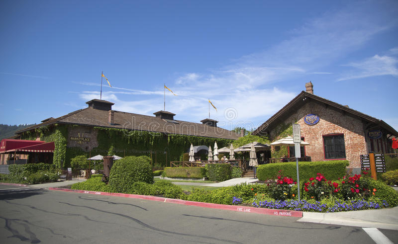 Bardessono Hotel In Yountville,Napa Valley Editorial Photography