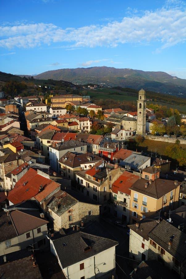 Bardi Stadt Italien lizenzfreies stockbild