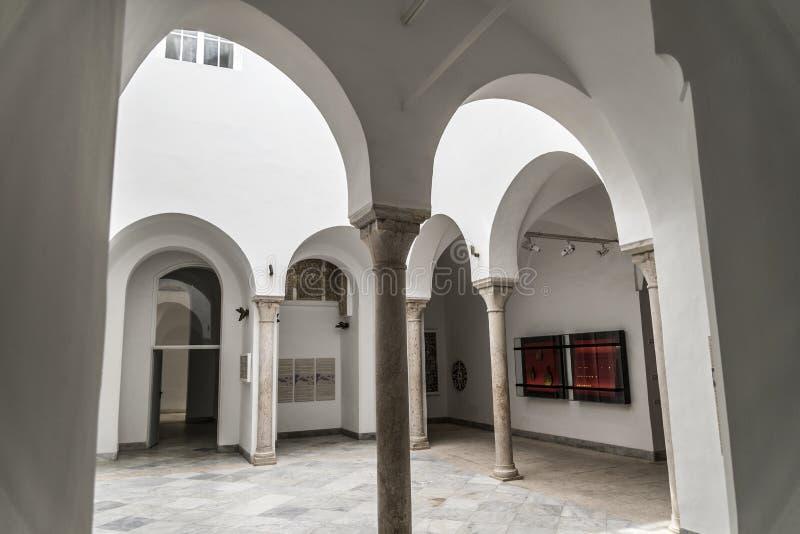 Bardoen Tunisien arkivfoto