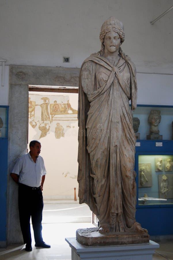 Bardomuseum, Tunis, Tunesië stock afbeelding