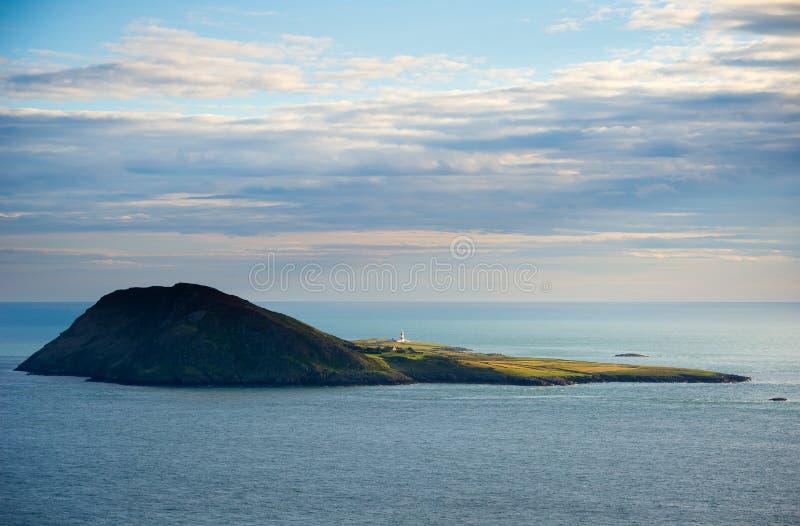 Bardsey海岛,北部威尔士,英国 免版税库存照片