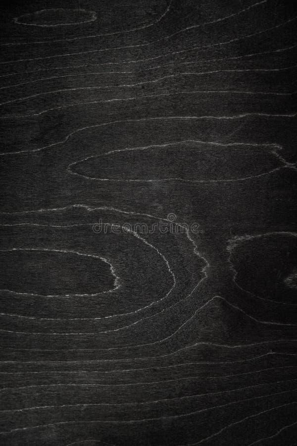 Bardzo ciemna drewniana tekstura zamknięta w górę Walpaper zdjęcie stock