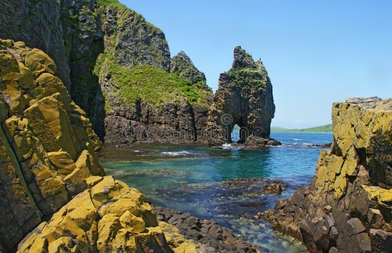 Wibrujący Morski krajobraz. fotografia royalty free