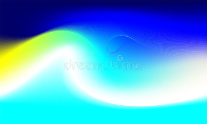 Bardzo piękna struktura tęczy Folia holograficzna Wspaniałe magiczne tło Fantasy — kolorowa karta Sztuka irytująca Trendy punchy ilustracja wektor