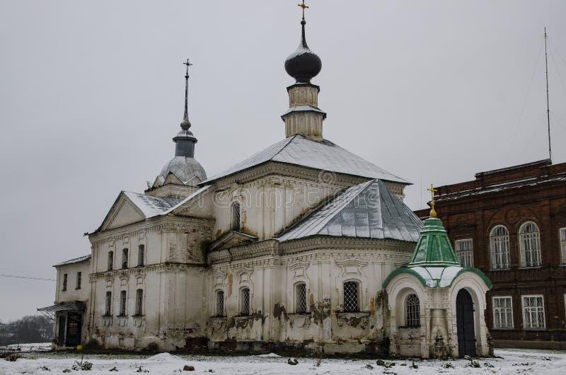 bardzo starego kościoła fotografia royalty free