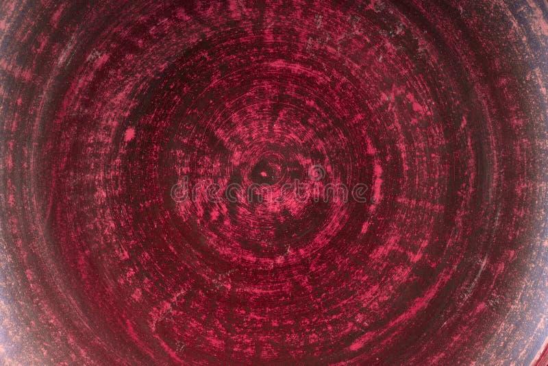 Bardzo stary czerwony grunge ściany tło lub tekstura zdjęcia royalty free