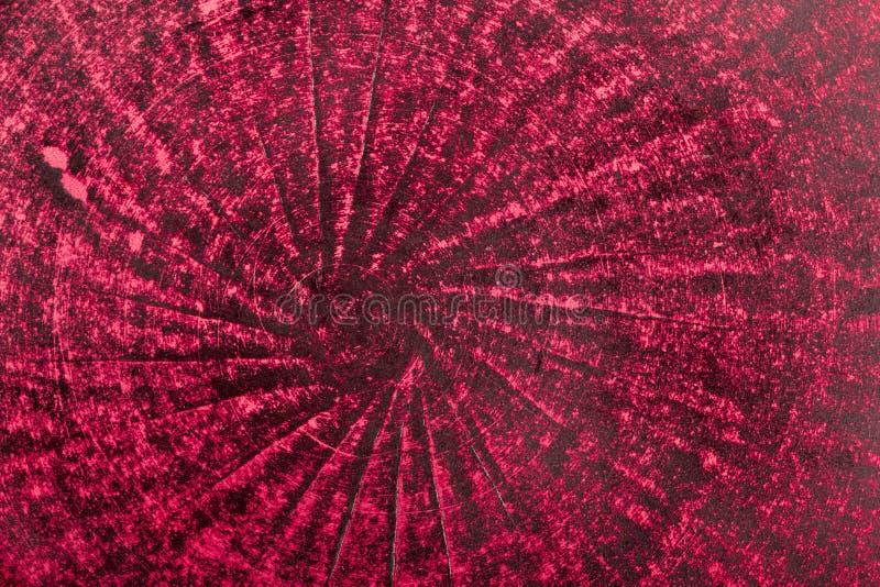 Bardzo stary czerwony grunge ściany tło lub tekstura fotografia royalty free