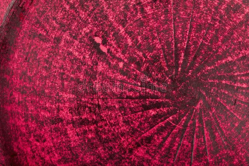 Bardzo stary czerwony grunge ściany tło lub tekstura fotografia stock