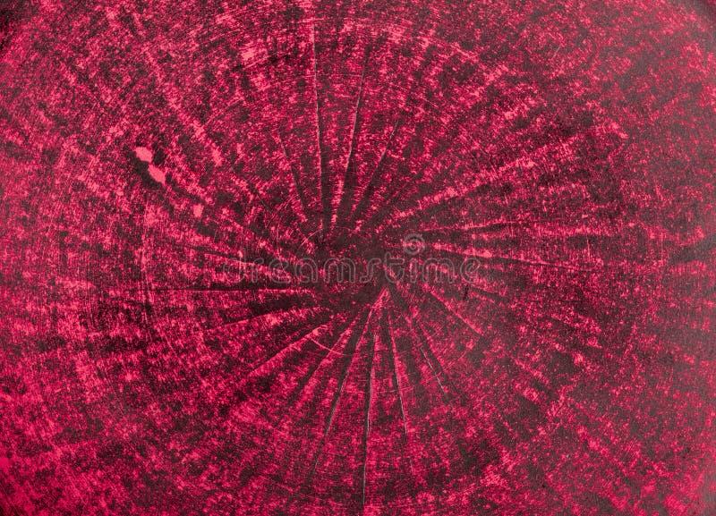 Bardzo stary czerwony grunge ściany tło lub tekstura zdjęcia stock