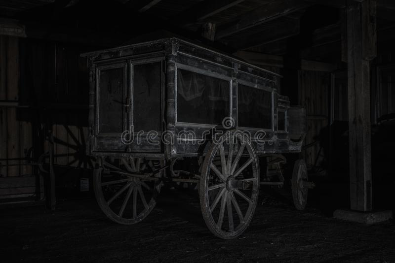 Bardzo stary karawanu konia fracht obrazy royalty free