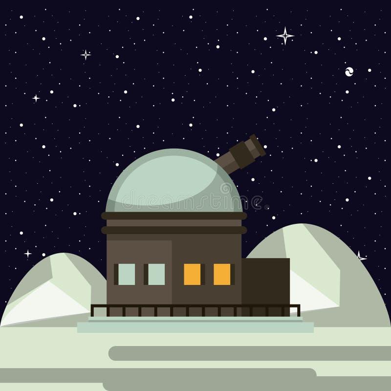 Bardzo wielki teleskop ilustracji