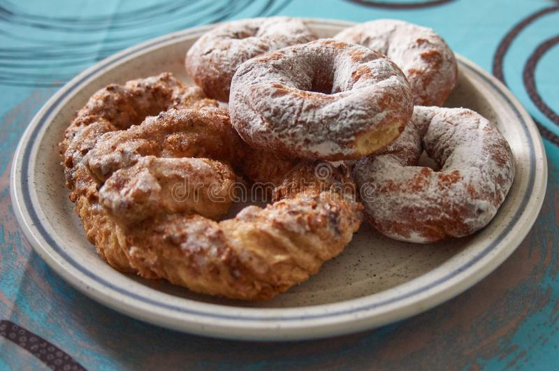 Bardzo wyśmienici donuts zdjęcie stock