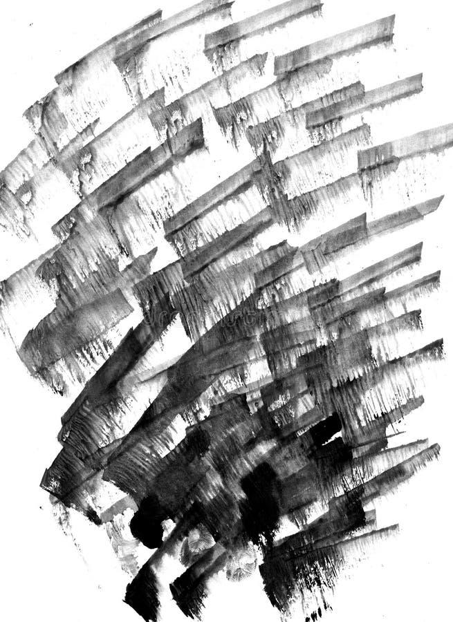 BARDZO wzrosta postanowienie Geometryczny graffiti abstrakta tło Tapeta z airbrush skutkiem Czarna akrylowa farba zdjęcia stock