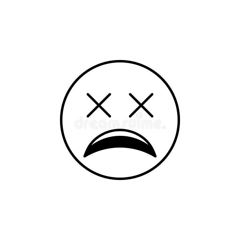 bardzo zmęczona ikona Szczegółowy set avatars zawód ikony Premii ilości kreskowy graficzny projekt Jeden inkasowe ikony fo ilustracji