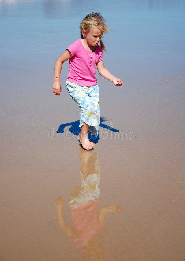 Download Bare feet child playing stock photo. Image of look, childhood - 6500322