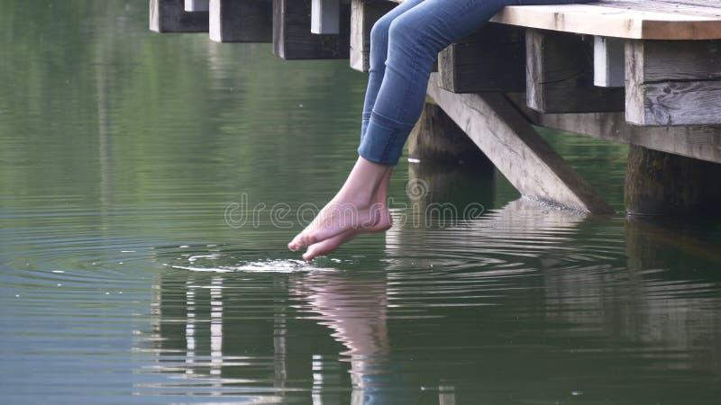 America Girl Feet Water