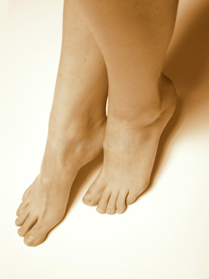 Bare-footed Stock Images